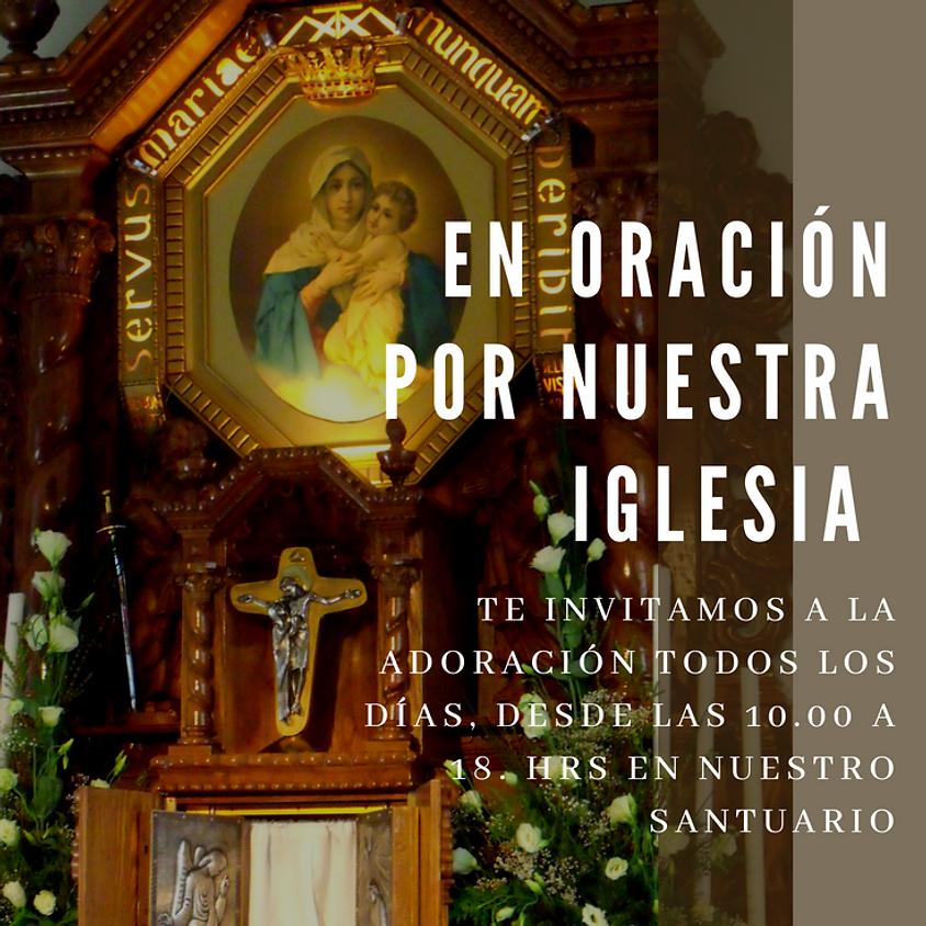Oración por nuestra Iglesia chilena