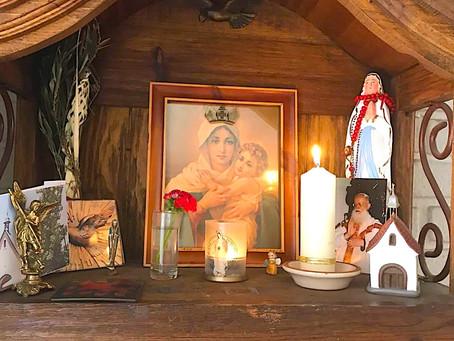 Bendición de nuevos Santuarios Hogares