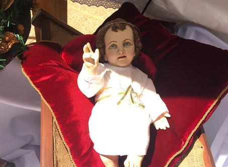 Cuarto domingo de adviento y bendición del niño Jesús