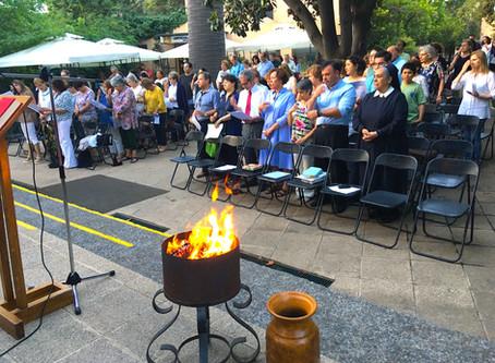 Misa de Alianza - diciembre 2019 y Ricardo y Cecilia asumen jefatura de Rama de Familias