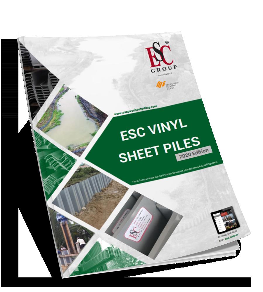 ESC Vinyl Sheet Piles Catalogue