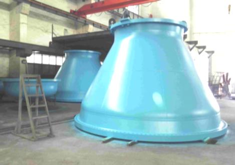 Pressure vessel painted