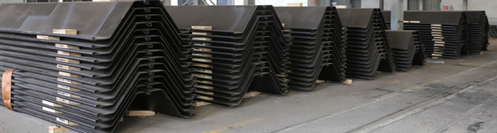 Colled Rolled Profile Sheet Piles (CRZ)