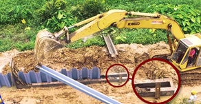 Vinyl Sheet Pile (PVC Sheet Pile) Driving Method