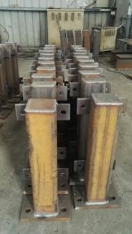 ESC fabricated guard rails