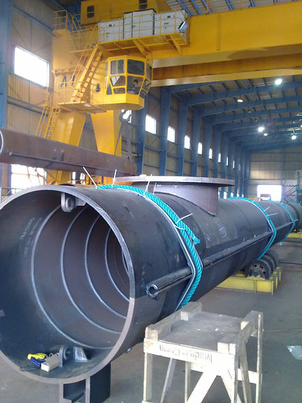 Manufacturing of king pipe piles