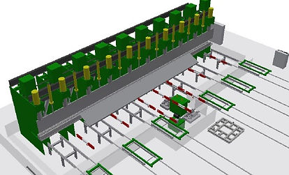 Material handling structures