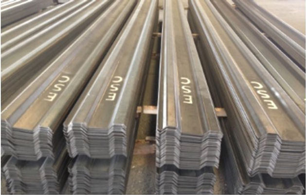 Sheet piles supply