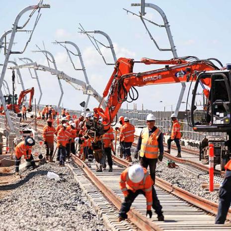 Railway Mast, Australia