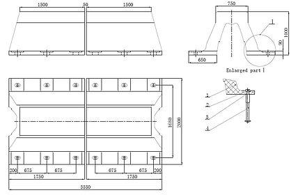 Arch fender design