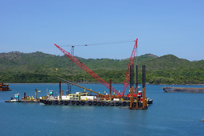 Pipe piles installation