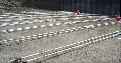 Tie Rod System Esc Pile Global Sheet Piling Solutions