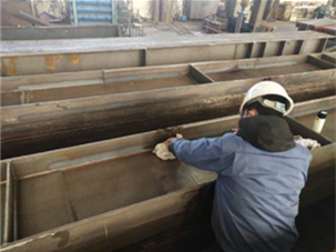 bridge girder materials test