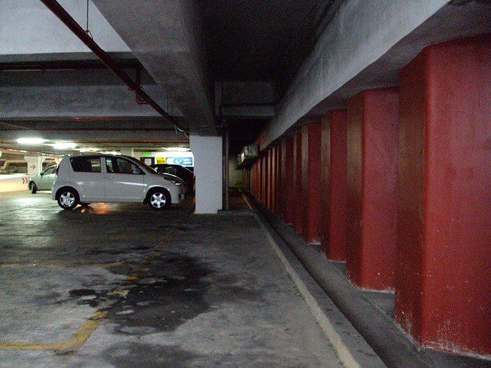 Underground parking sheet pile application