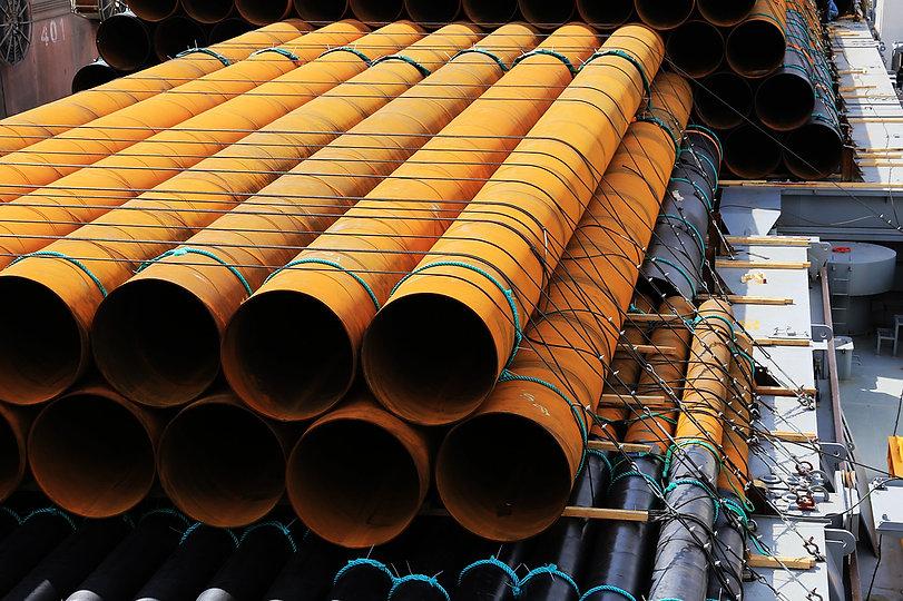 Tubular pipe piles