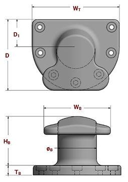 T-head bollard specifications