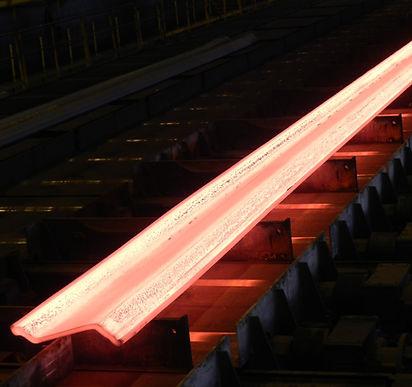 hot rolling of steel sheet piles