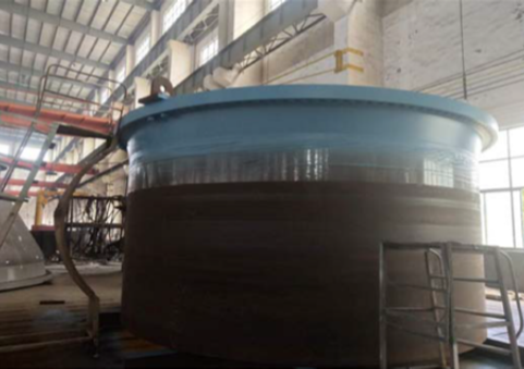 Pressure vessel painting