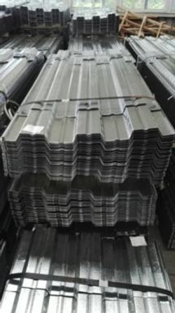 ESC provided the cold formed formwork decking