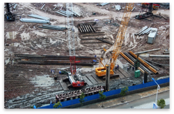 Installation of ESC sheet piles