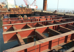 bridge components installation on site