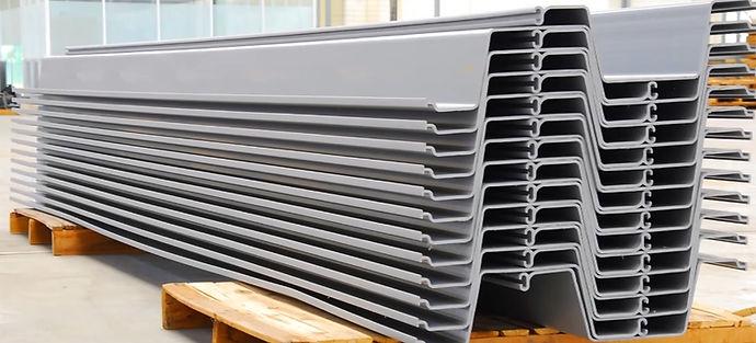 vinyl sheet piles