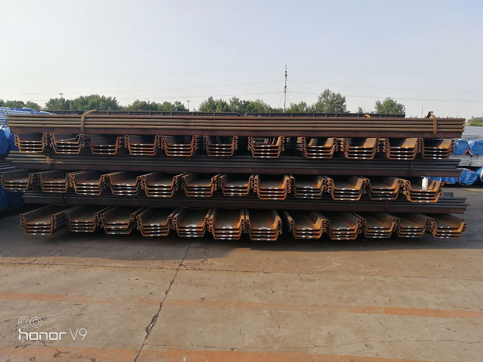 type 2, type 3, type 4 steel sheet piles