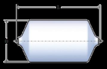Foam fender diagram