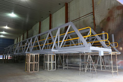 Gangways with top coat applied 1