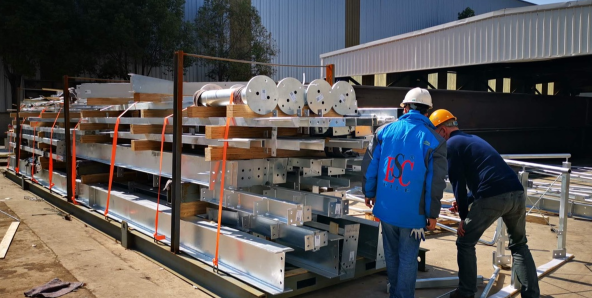 pre-fabricated steel buildings fabrication