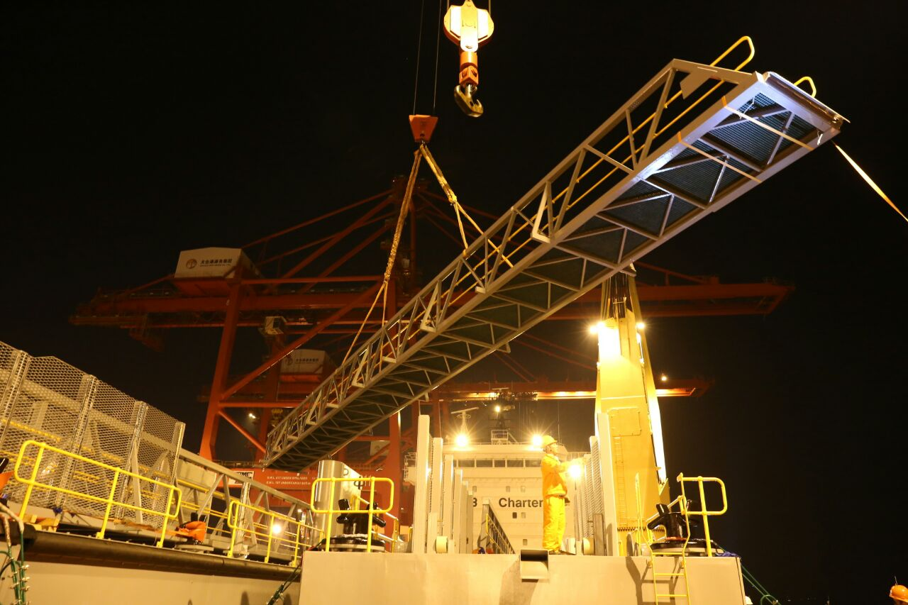Loading of Gangways 1