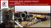 Mare Harbour : Projet International de l'année aux Construction News Awards
