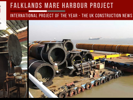 Mare Harbour: International Project of the Year at the Construction News Awards