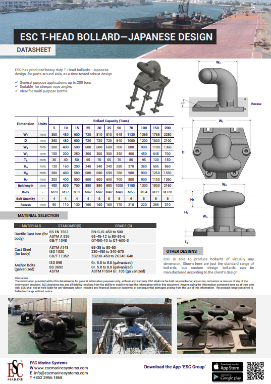 T-Head Bollard Japanese (ENG)