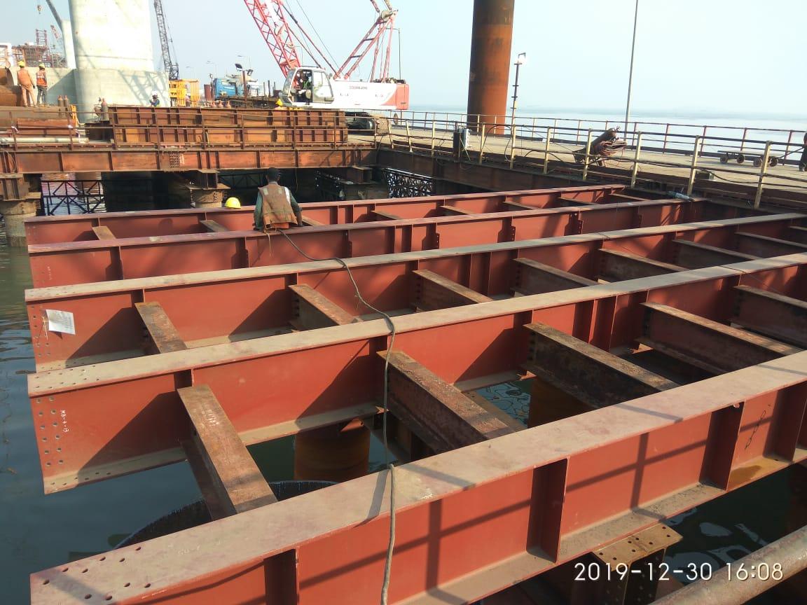 bridge girder fabrication