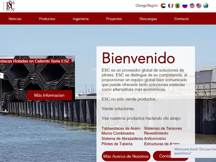 Acerlum-ESC spanish website upgraded