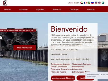 Acerlum-ESC spanish website upgraded