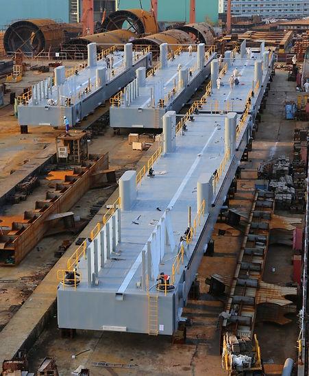 tug harbour pontoon fabrication