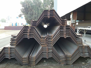 sheet piles stock available