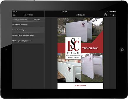 ESC App on Ipad