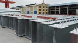 Hot Dip Galvanisation of Bridge Girders and components
