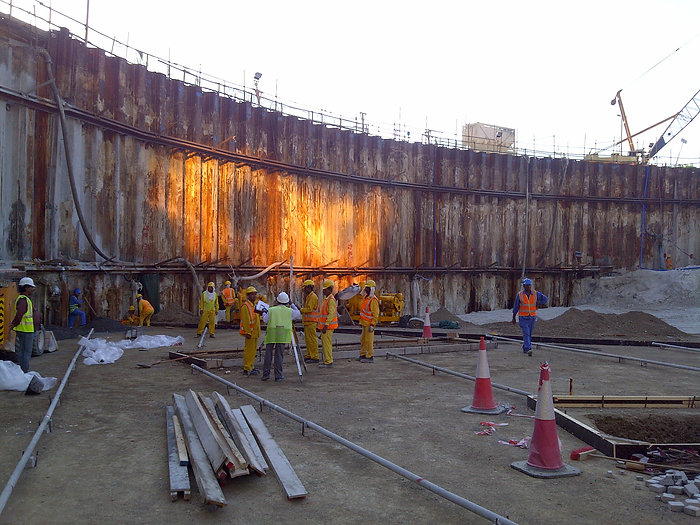 Sheet Piles for General Building construction
