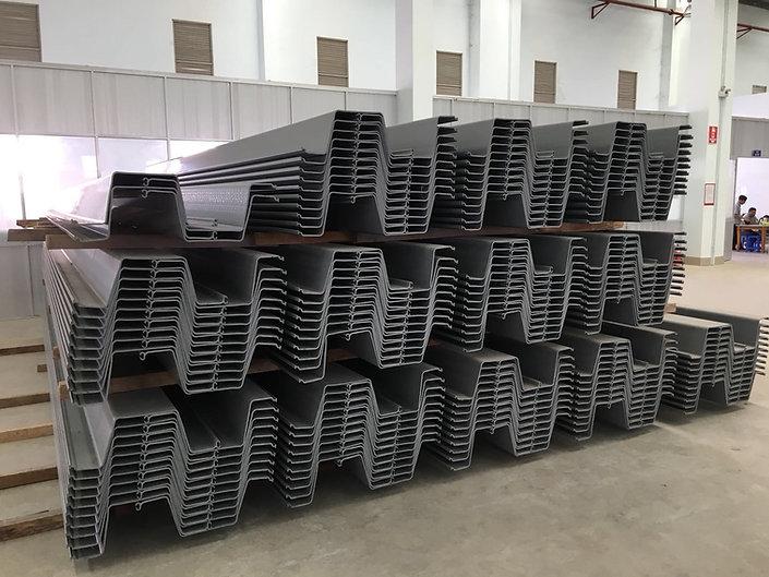 Sheet piles supply