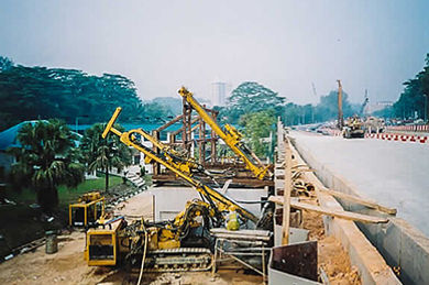Sheet pile for bridges and highways construction