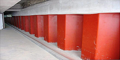 Permanent sheet pile basement wall