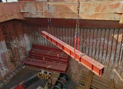 loading of bridge component