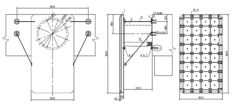 Cell fender design