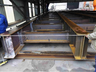 Bridge Girder dimension inspection