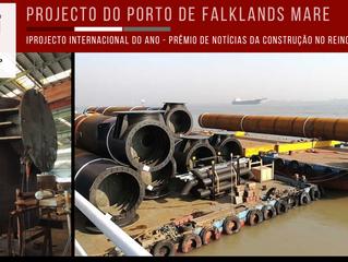 Mare Harbour: Projecto Internacional do Ano nos Prémios de Notícias da Construção