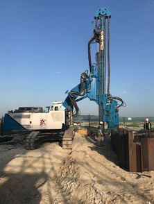 Quality Control Measures for Sheet Pile Installation